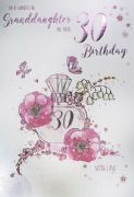 Granddaughter 30th Birthday Card